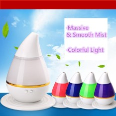 7 Color LED Ultrasonic Aroma Humidifier Air Aromatherapy Essential Oil Diffuser - intl