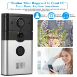 Buy 720P Wireless Doorbell Support Phone View Record Snapshot Infrared Night View Rainproof Pir Motion Detection Tamper Alarm For Door Entry Access Control Intl Not Specified Cheap