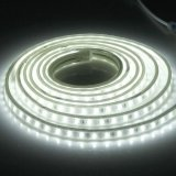 Compare Price 72W Casing Waterproof Ip65 Smd 5730 Led Light Strip With Power Plug 120 Led M Length 3M Ac 220V White Light Intl On China