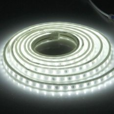 Retail Price 72W Casing Waterproof Ip65 Smd 5730 Led Light Strip With Power Plug 120 Led M Length 3M Ac 220V White Light Intl