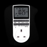 Buy 7Day Digital Programmable Timer Lcd Plug In Socket Switch 12 24 Hour Uk Intl Agbistue Cheap