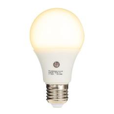 7W E27 Dusk to Dawn 360 Degree Sensor Light Bulb SMD2835 AC110V-240V 630LM Auto Switch Constant Current Lamp for Corridor Balcony Attic Parking Lot Park Courtyard Bathroom Warm White - intl