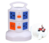 7Way Outlet Socket Extension Lead Surge Protected Adaptor Power Strip With 2 Usb Port Charger Uk Plug 7 Way 2 Usb Port Shopping