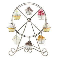 List Price 8 Cups Cupcake Ferris Wheel Holder Intl Oem
