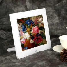 Review 8 Hd Tft Lcd Digital Photo Frame Clock Mp3 Mp4 Movie Player Export Not Specified