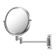 8-inch Wall Makeup Mirror 7 Times Magnification Double Wall Mirror Hotel Bathroom Mirror Beauty Mirror - intl