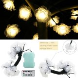 Buy 8 Lighting Model Indoor And Outdoor 20Ft 6M 30 Led Rose Battery Opetated String Fairy Waterproof Lights Christmas String Lights With 13 Key Remote Control For Garden Patio Yard Home Christmas Tree Intl China