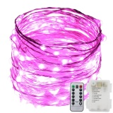 8 Lighting Model Indoor And Outdoor Waterproof Battery Operated 120 Led String Lights On 6M Long Ultra Thin Silver Wire With 13 Key Remote Control Intl Free Shipping