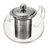 How Do I Get 800Ml Heat Resistant Glass Teapot Stainless Steel Infuser And Lid Tea Herbal Pot Export