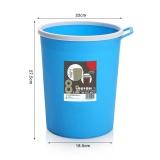 Price 8 2L Plastic Trash Can Creative Bathroom Kitchen Round Dustbin Bedroom Living Room Portable No Cover Garbage Can Trash Bin Intl Oem Online