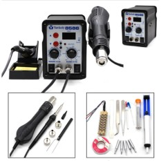 Price Compare 8586 700W Esd Soldering Station Led Digital Solder Iron Desoldering Station Bga Rework Solder Station Hot Air Handle Welder Intl