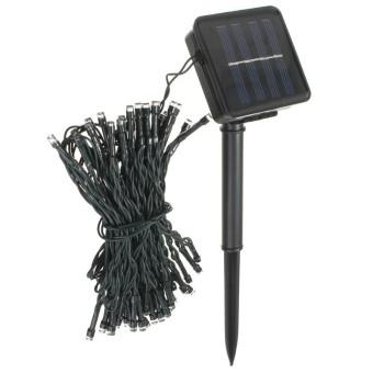 8M 60 Led Solar Power Fairy Light String Lamp Party Xmas Garden Outdoor Blue