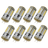Price 8Pcs G4 Ac Dc 12V 3W Smd 3014 57 Led Light Bulb Lamp Warm White Export Intl On China