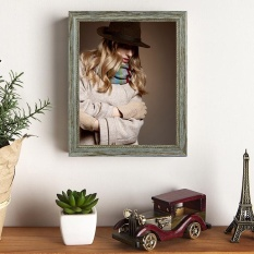 Latest 8X10 Premium Vintage Photo Picture Frame Stylish Wood Style Frame Intl