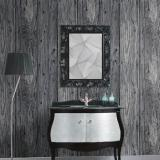 Where Can I Buy 9 5M 3D Wood Timber Theme Wallpaper Roll Rustic Dark Grey Wood Panel Pattern Home Decor Intl