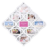 9 Image Chinese Knots Combination Picture Display Wall Decor Photo Frame Collage Intl Price