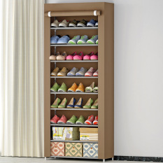 Best Price 9 Layers Dust Proof Shoebox Storage Shoe Rack Shoes Cabinet