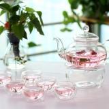 Retail 9 Piece Glass Teapot Set