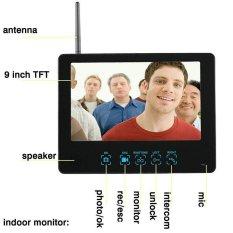 List Price 9 Wired Dvr Touch Screen Video Door Phone Pir Record Intercom Ir Camera W 8G Sd Card Eu Plug Intl Oem