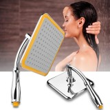9 Adjust Wall Square Pressurize Rain Shower Head Rainfall Bathroom Top Sprayer Intl Best Buy