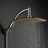 Price Compare 9 Square Rain Shower Head Rainfall Bathroom Top Sprayer New Intl