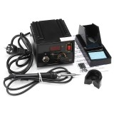 Latest 967 Electric Rework Soldering Station Iron Lcd Display Desoldering Kit 110V 220V Intl