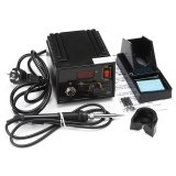 Discount 967 Electric Rework Soldering Station Iron Lcd Display Desoldering Kit 110V 220V Intl China