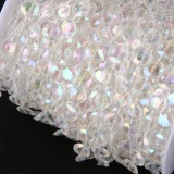 Promo 99Ft 30M Acrylic Plastic Crystal Clear Beads String For Curtains Intl