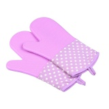 Top Rated A Pair Of Kitchen Silicone Heat Resistant Cooking Pan Oven Bbq Holder Safety Gloves Intl