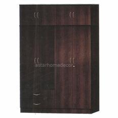 [A-STAR] 10 Doors Wardrobe in walnut