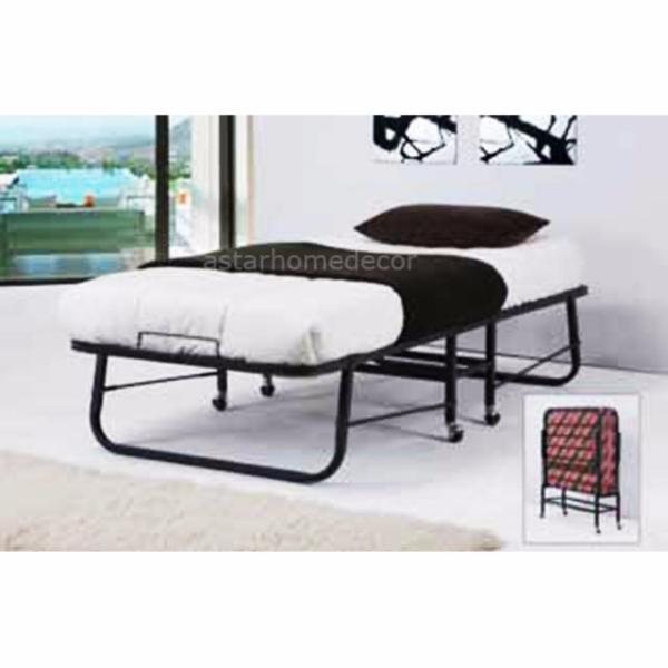 [A-STAR] Single size Metal Folding Bed