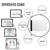 A4 Led Light Tracing Box Board Drawing Pad Art Stencil Table Tattoo Usb Cable Intl Review