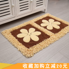 Price Compare Sunflower Cotton Chenille Mat Absorbent Mat