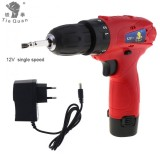 Top 10 Ac 100 240V Cordless 12V Electric Drill Screwdriver With Rotation Adjustment Switch And 18 Gear Torque For Handling Screws Punching Intl