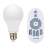 Cheaper Ac 200 240V E27 7W Wireless Dimming Led Bulb Light Energy Saving Lamp With Remote Controller Intl
