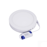 Ac 85 265V 24W 1600Lm 3000 3500K 120 Led Round Ceiling Led Downlight Lamp Warm White Cheap