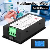 Buy Ac80 260V 100A Lcd Digital Volt Watt Current Power Meter Ammeter Voltmeter Bi507 Cheap Hong Kong Sar China