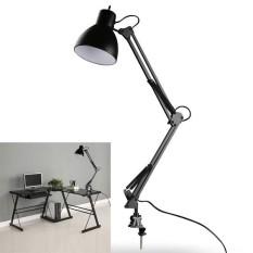 AC85-265V E27/E26 Black Metal Arm Joint Swing Arm Desk Lamp Table Lamp - intl