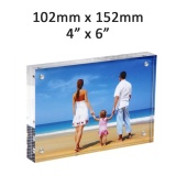 Sale Acrylic Frame Magnetic Picture Frames Clear 10 10Mm Thickness Stand In Desk Table 152 102Mm 4 6 Intl China Cheap