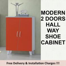 Store Ada 2 Doors Shoe Cabinet Furnet On Singapore
