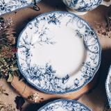 Top Rated Adelaide Blue 10 Dinner Plate