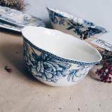 Price Adelaide Blue 6 Soup Bowl Lovera Collections