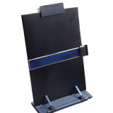 Adjustable Desktop Document Book Reading Stand Holder Copyholder With Line Guide Ruler And Clip Black Compare Prices