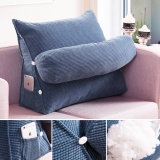 Coupon Adjustable Sofa Bed Chair Office Rest Neck Support Back Wedge Cushion Pillow Purple Intl