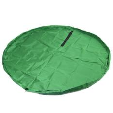 Ai Home Kids Toys Storage Bag Play Mat Green