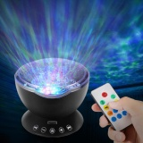 Compare Price Akdsteel Ocean Wave Music Projector Night Light Remote Control Lamp With Built In Mini Music Player 12 Led Beads 7 Colorful Lights For Kids Adults Bedroom Living Room Intl Oem On China