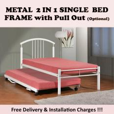 ALICE Single Bed with Pull Out