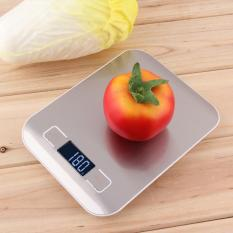 Discount Allwin 11Lb X 05Oz Slim Lcd Digital Kitchen Scale 5Kg X 1G Weight Food Diet