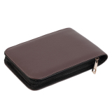 Sale Allwin New Fashion Fountain Pen Roller Pen Pu Leather Case Pouch Bag For 12 Pens Oem Online