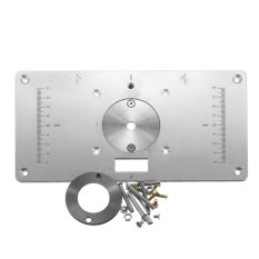 Buy Aluminum Router Table Insert Plate For Popular Trimmers Routers Diy Woodworking Intl On China
